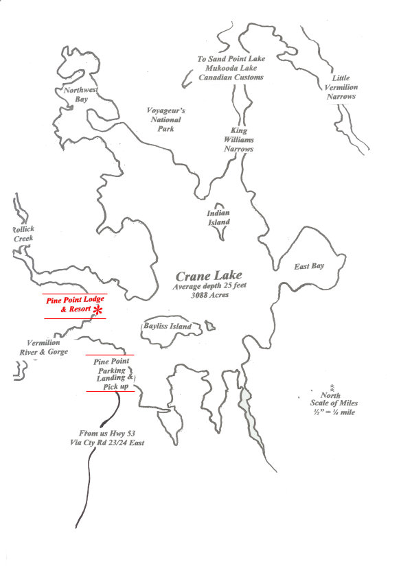 Lake Vermillion Minnesota Map.Vermilion Gorge Minnesota